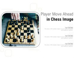 Player Move Ahead In Chess Image