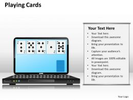 playing cards PPT 12