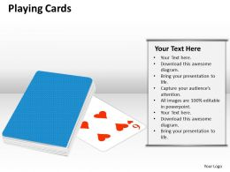 playing cards PPT 13