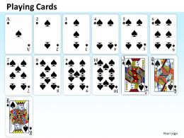 playing cards PPT 14