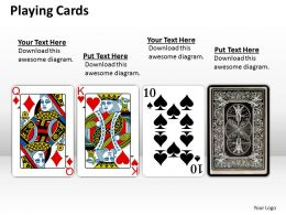 playing cards PPT 1
