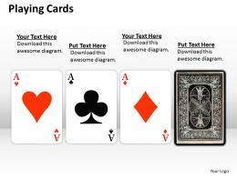 playing cards PPT 5