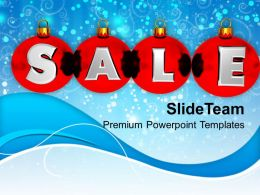 pleasant_holidays_christmas_balls_sale_on_winter_background_powerpoint_templates_ppt_backgrounds_Slide01