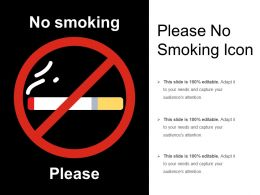 Please No Smoking Icon