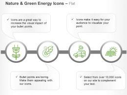 Plug Gear Car Fuel Solar Energy Plant Ppt Icons Graphics