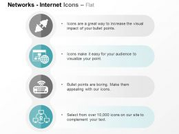 plug_socket_globe_wifi_keyboard_network_webcam_attached_to_computers_ppt_icons_graphics_Slide01
