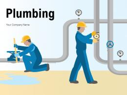Plumbing Services Treatment Maintenance Infographic
