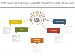 Pmi Powerpoint Template Example Powerpoint Slide Introduction