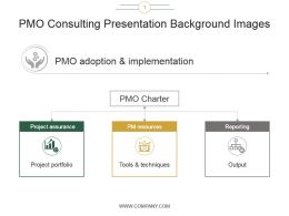 Pmo Consulting Presentation Background Images