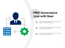 PMO Governance Icon With Gear