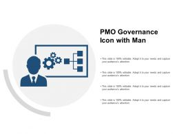 PMO Governance Icon With Man