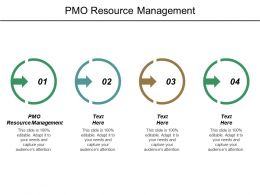 Pmo Resource Management Ppt Powerpoint Presentation File Show Cpb