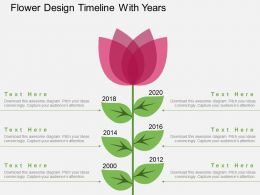 po_flower_design_timeline_with_years_flat_powerpoint_design_Slide01