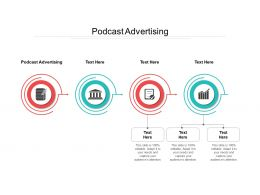 Podcast Advertising Ppt Powerpoint Presentation Gallery Diagrams Cpb