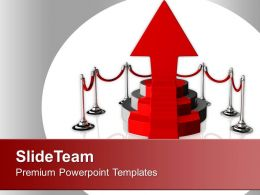 Podium On White Background Is Success Powerpoint Templates Ppt Themes And Graphics 0213