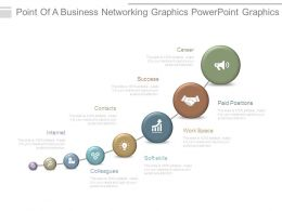 Point Of A Business Networking Graphics Powerpoint Graphics