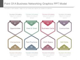 Point Of A Business Networking Graphics Ppt Model