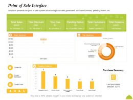 Point Of Sale Interface Create Order Ppt Powerpoint Presentation Portfolio Examples