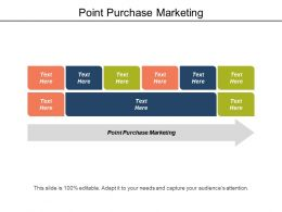 Point Purchase Marketing Ppt Powerpoint Presentation Gallery Inspiration Cpb