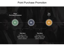 Point Purchase Promotion Ppt Powerpoint Presentation Portfolio Example Cpb