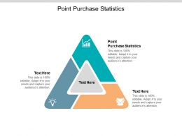 Point Purchase Statistics Ppt Powerpoint Presentation Infographic Template Icons Cpb