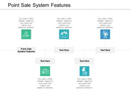 Point Sale System Features Ppt Powerpoint Presentation Layouts Design Ideas Cpb