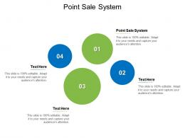 Point Sale System Ppt Powerpoint Presentation Infographic Template Graphics Design Cpb