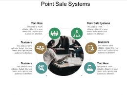 Point Sale Systems Ppt Powerpoint Presentation File Tips Cpb