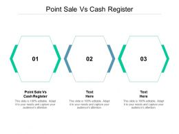 Point Sale Vs Cash Register Ppt Powerpoint Presentation Infographic Template Shapes Cpb
