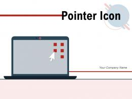 Pointer Icon Arrow Browser Computer Scanning Displayed