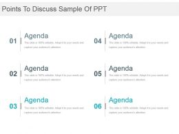 Points To Discuss Sample Of Ppt
