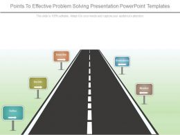 Points To Effective Problem Solving Presentation Powerpoint Templates