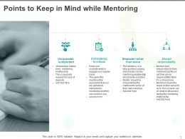 Points To Keep In Mind While Mentoring Responsibility Ppt Slides