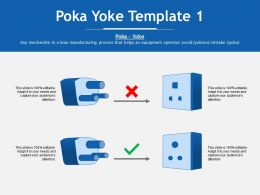 Poka Yoke Lean Manufacturing Process Ppt Powerpoint Presentation File Guide