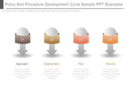 Policy And Procedure Development Cycle Sample Ppt Examples