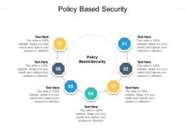 Policy Based Security Ppt Powerpoint Presentation Gallery Slides Cpb