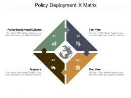 Policy Deployment X Matrix Ppt Powerpoint Presentation Gallery Layout Ideas Cpb
