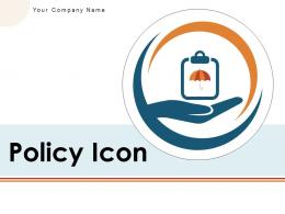 Policy Icon Business Insurance Education Enterprise Manufacturing Gear
