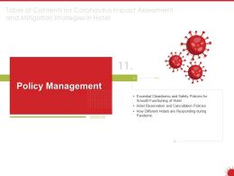 Policy Management Hotels Ppt Powerpoint Presentation Example Topics