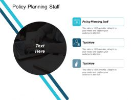 Policy Planning Staff Ppt Powerpoint Presentation Icon Introduction Cpb