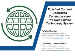 Polished Content Controlled Communication Product Service Technology System