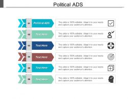 Political Ads Ppt Powerpoint Presentation Gallery Introduction Cpb