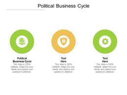 Political Business Cycle Ppt Powerpoint Presentation Icon Graphic Tips Cpb