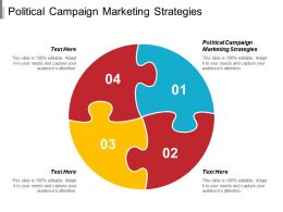 Political Campaign Marketing Strategies Ppt Powerpoint Presentation Professional Example File Cpb
