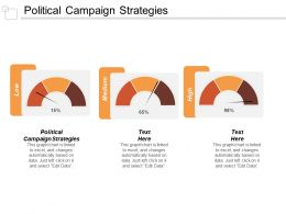 Political Campaign Strategies Ppt Powerpoint Presentation Ideas Maker Cpb