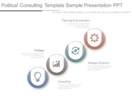 Political Consulting Template Sample Presentation Ppt
