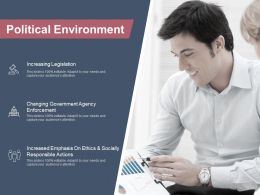 Political Environment Increasing Legislation Ppt Powerpoint Presentation Inspiration Grid