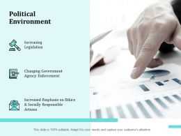 Political Environment Legislation Ppt Powerpoint Presentation Maker