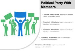 Political Party With Members