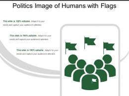Politics Image Of  Humans With Flags